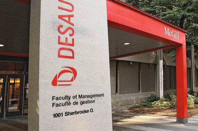 Desautels Faculty of Management MBA Programs
