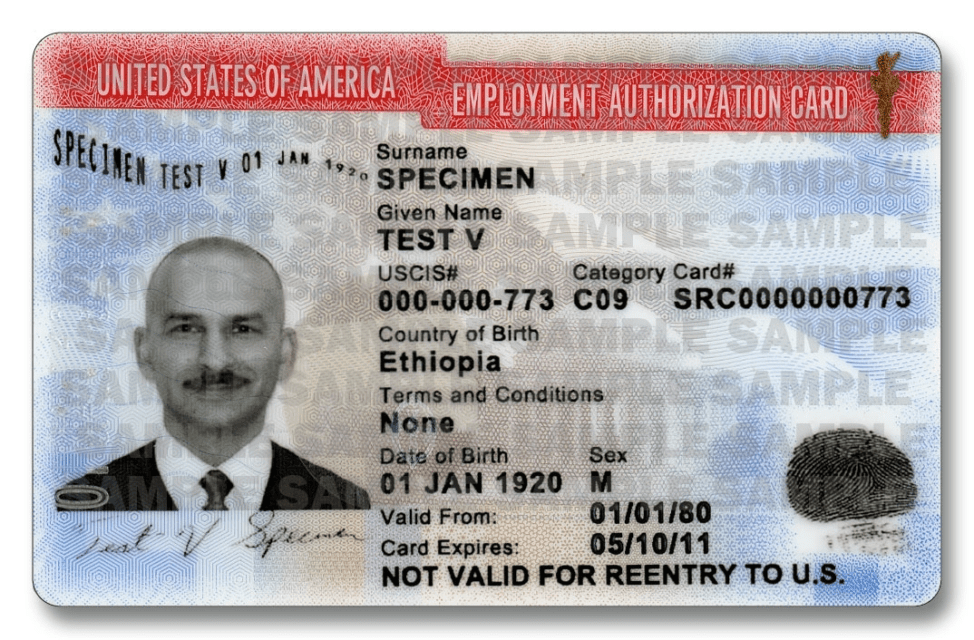 Obtaining An Employment Authorization To Work In The U.S