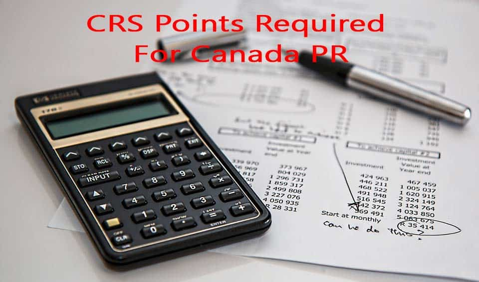 Lowest CRS Score Requirement In