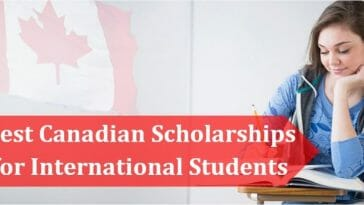 get scholarships in Canada for International Students