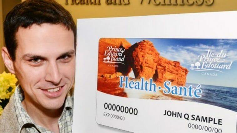 Prince Edward Island health card