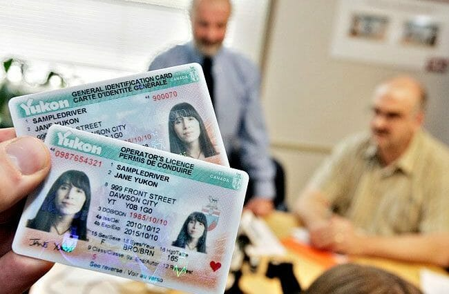 Driver's licence in Yukon