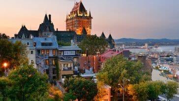 Cities in Quebec