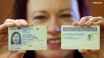 Manitoba Drivers Licence