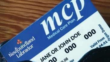 Newfoundland Health Card